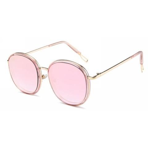 Солнцезащитные очки 8621001s Пудровый - фото