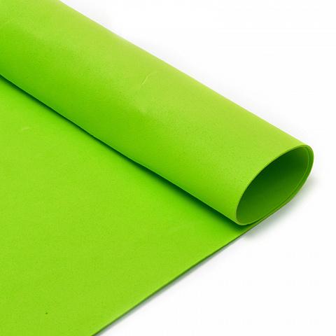 Фоамиран 1мм ярко-зеленый