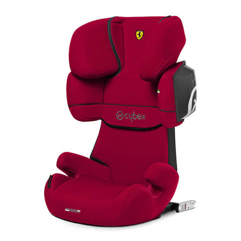 Автокресло Cybex Solution X2-Fix FE Ferrari Racing Red