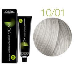 L'Oreal Professionnel INOA 10.01 (Очень очень светлый блондин глубокий пепельный) - Краска для волос