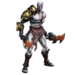 God of War III Play Arts Kai - Kratos