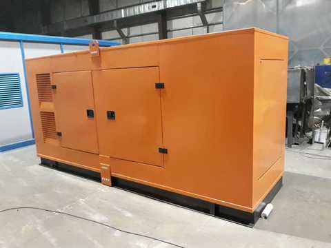 Кожух для дизельного генератора от 201 до 300 кВт