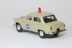 Moskvich-403 GAI Police beige Agat Mossar Tantal 1:43