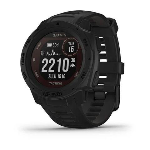 Купить Ударопрочные часы Garmin Instinct Solar - Tactical Edition, черные 010-02293-03 по доступной цене