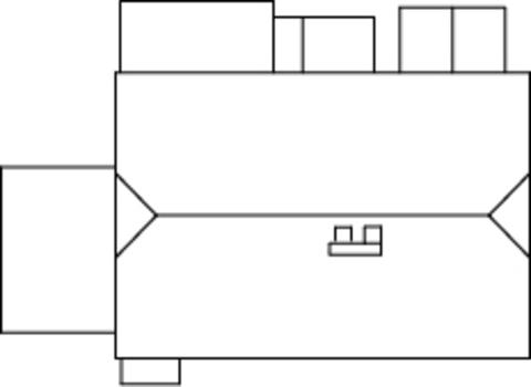 Крестьянский дом, (H0)