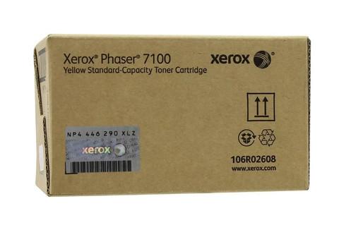 Картридж Xerox 106R02608 желтый