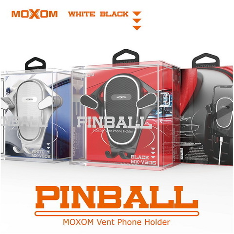 Автодержатель Moxom VS06 Pinball Air, black