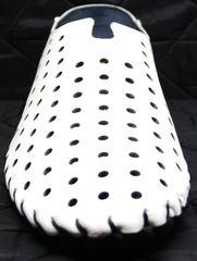Красивые летние туфли мужские Luciano Bellini 107704 White.