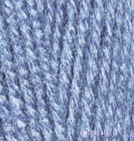 Пряжа Superlana midi Alize 806 Жаспе синий, фото