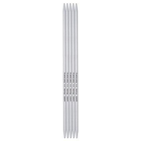 Спицы для вязания Addi чулочные, алюминиевые, 20 см, 4.5 мм