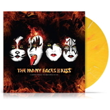 Сборник / The Many Faces Of KISS (Coloured Vinyl)(2LP)