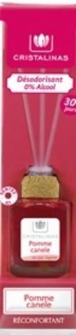 Ароматический диффузор Яблоко с корицей Cristalinas Mikado, 40 мл, 2 мес