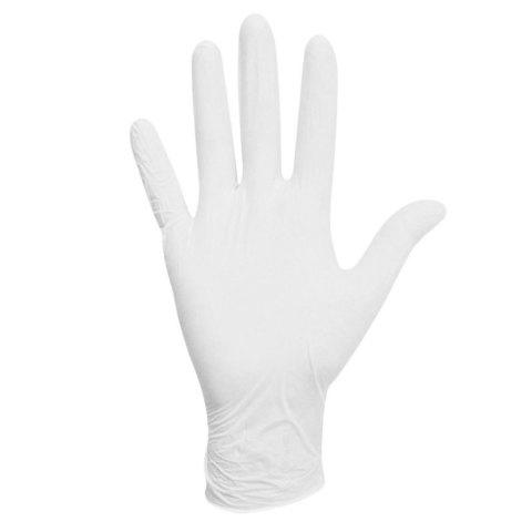 Перчатки нитрил MDC (LN315M) M-size белого цвета 100 пар/уп