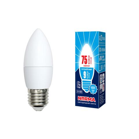 LED-C37-9W/NW/E27/FR/NR Лампа светодиодная. Форма