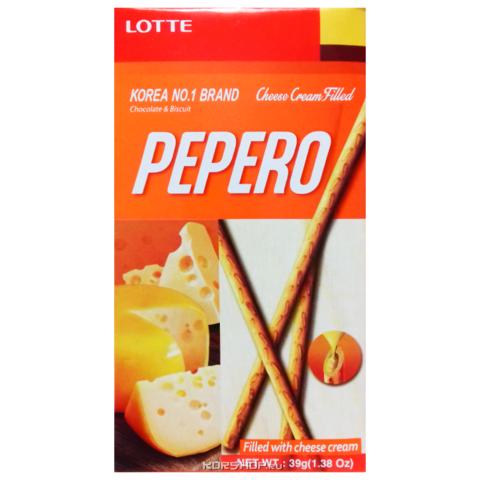 Соломка с кремовой сырной начинкой PEPERO CHEESE CREAM FILLED 39 гр