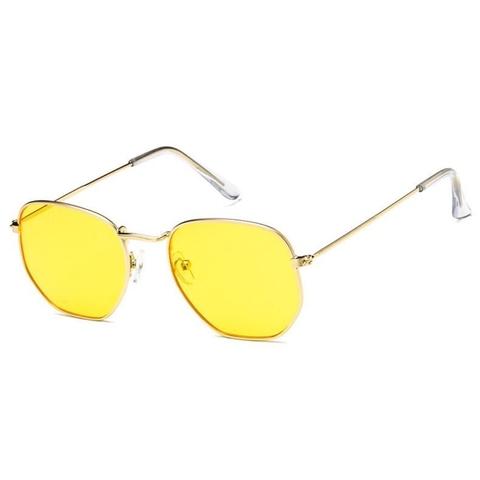 Солнцезащитные очки 3022002s Желтый - фото