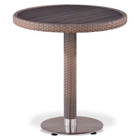 Плетеный стол T501DG-W1289-D70 Pale