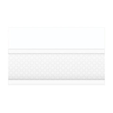 Цоколь Катрин белый 13-01-1-25-43-00-1451-0 250х150х9
