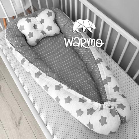 Кокон (гніздечко) для новонароджених Warmo ™ ЗІРОЧКИ