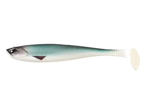Виброхвост LUCKY JOHN Basara Soft Swim 3D, 7.5in (190 мм), цвет PG07, 2 шт.