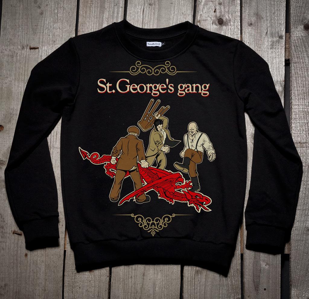 Толстовка St. George's gang