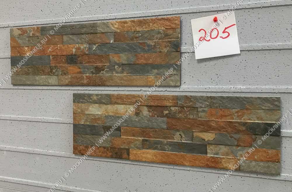 Cerrad Kallio, Rust 3720 - Цокольная плитка 45х15х0,9