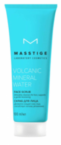 MASSTIGE Volcanic Mineral Water Скраб для лица  100мл