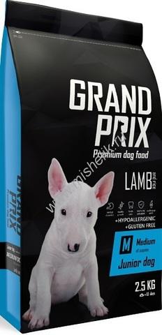 Grand Prix Medium Junior сухой корм для щенков собак средних пород (с ягненком) 2,5кг