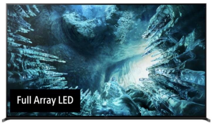 KD85ZH8 8K HDR телевизор Sony Bravia