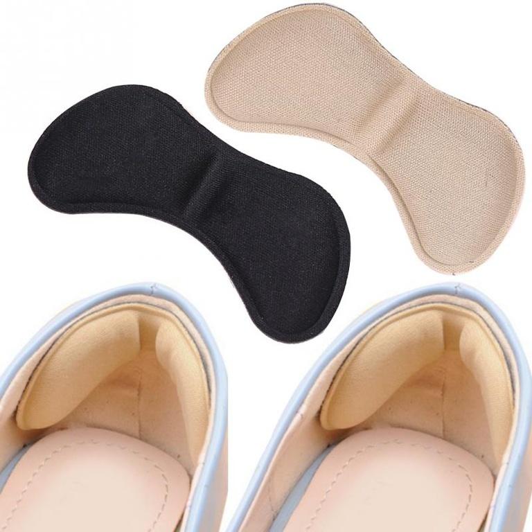 Стелька на пятку в обувь Анти-мозоль цвет: бежевый фото