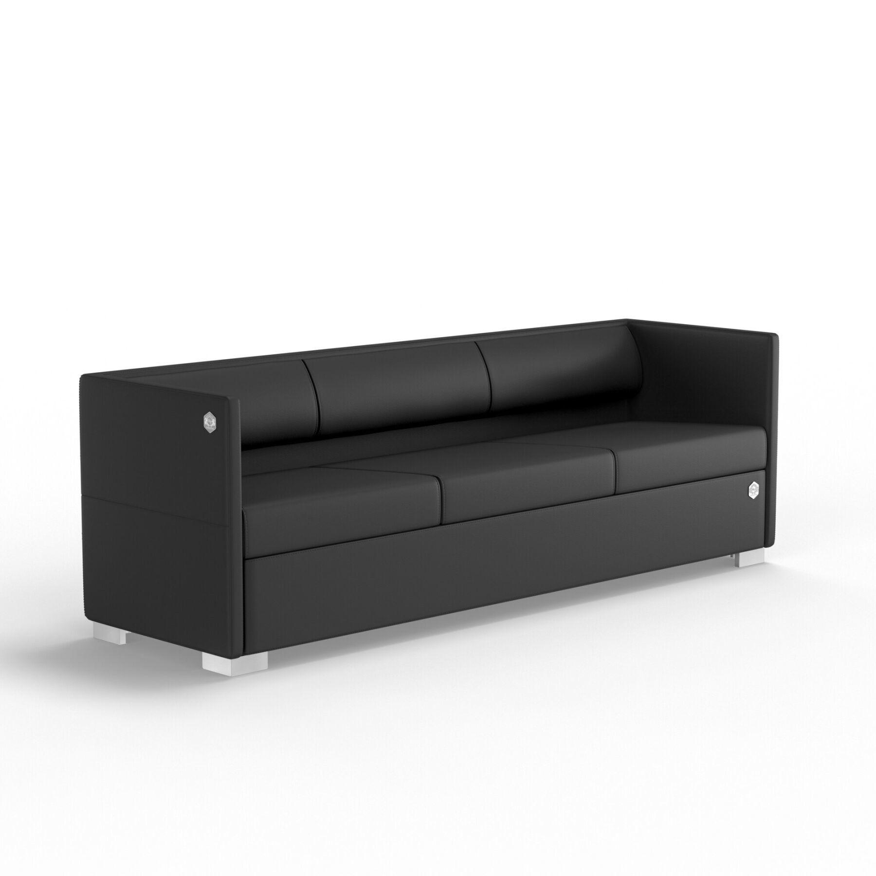 Трехместный диван KULIK SYSTEM LOUNGE Экокожа 3