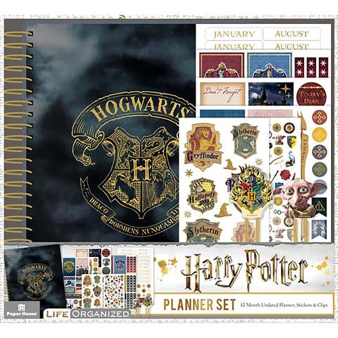 Набор ежедневник с украшениями - Paper House Harry Potter 12-Month Planner