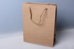 Подарочные пакеты - КРАФТ однотонный 11х14х5