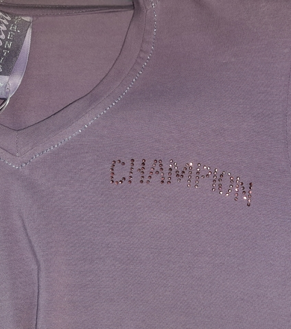 Лонгслив худи женская Champion логотип