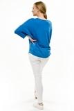 Джемпер для беременных 08624 синий