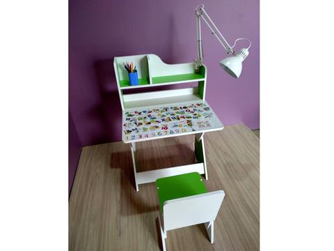 Растущий детский стол и стул
