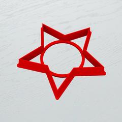 Звезда форма для пряника