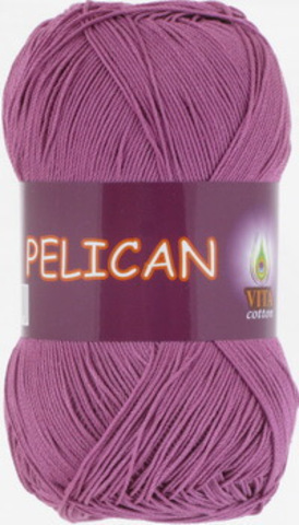 Пряжа Pelican (Vita cotton) 4006 Светлый цикламен