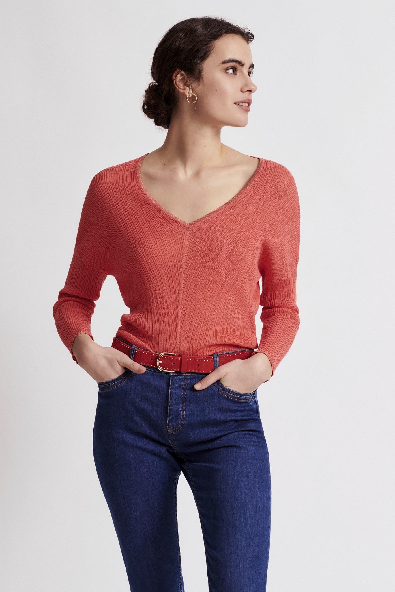 ELISABETTA - Пуловер с люрексом