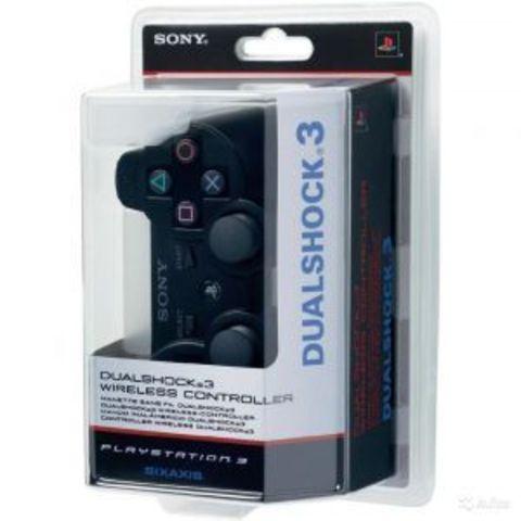 Беспроводной контроллер DualShock 3 (черный, копия)