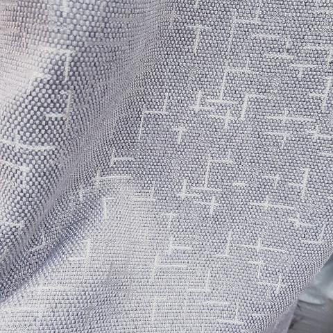 Блэкаут рогожка Штрихи серые оптом и на отрез. Ш-280 см. Арт. BLDJ-R7R