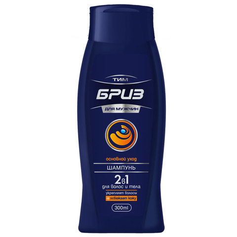 ТимБриз Шампунь для волос и тела 2 в 1