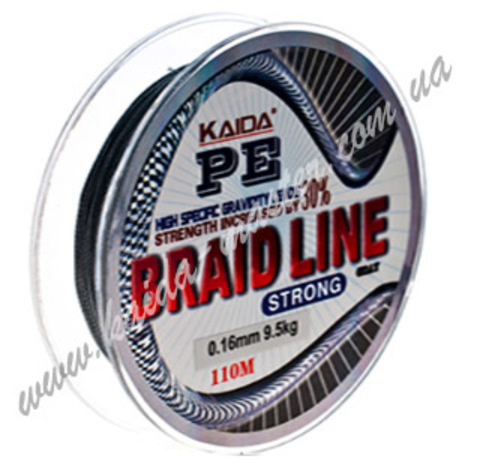 Плетенка BRAID LINE KAIDA strong YX-112-35