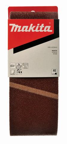 Шлифовальная лента Makita # 100 100x610 мм