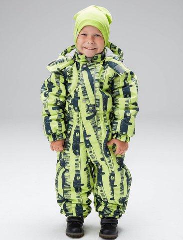 Uki kids демисезонный комбинезон для мальчика