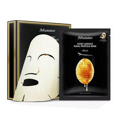 JMsolution Honey Luminous Royal Propolis Mask - Восстанавливающая тканевая маска с прополисом