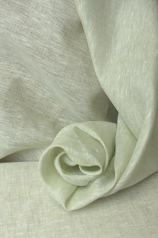 Льняная вуаль цвет ФИСТАШКОВЫЙ МЕЛАНЖ