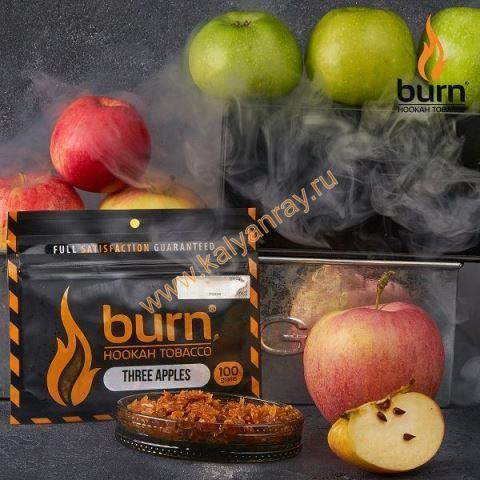 Burn Three Apples