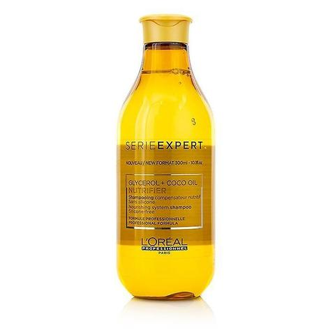 Шампунь для сухих волос, L'Оreal Serie Expert Nutrifier Glycerol+Coco Oil Shampooing, 300 мл.