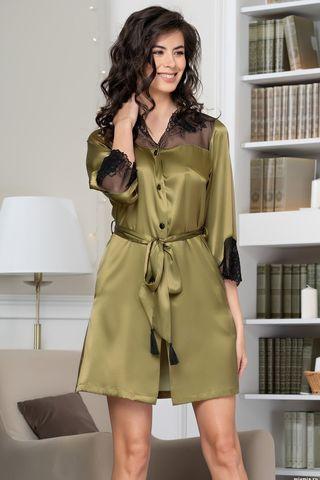 Рубашка Olivia 3647 оливковый Mia-Amore
